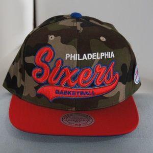 f7528a19e84 Mitchell   Ness Philadelphia 76ers Strapback